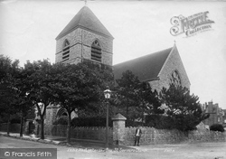 St Saviour's Parish Church 1907, Westgate On Sea