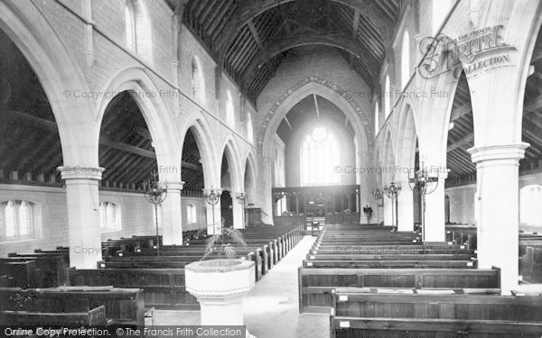 Photo of Westgate On Sea, The Church Interior 1889