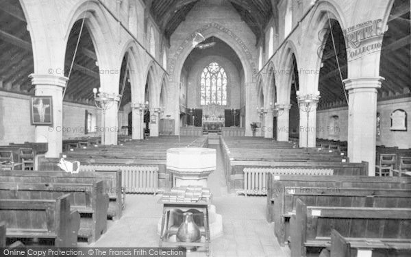 Photo of Westgate On Sea, The Church, Interior 1918