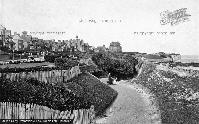 Photo of Westgate On Sea, The Gardens 1918
