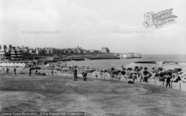 Photo of Westgate on Sea, the Putting Green, St Mildred's Bay c1955