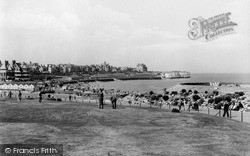 Westgate On Sea, The Putting Green, St Mildred's Bay c.1955