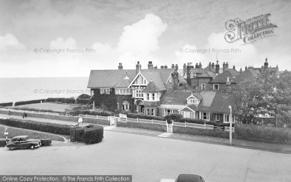 Photo of Westgate On Sea, The Rowena Court Hotel c.1955