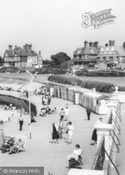 West Bay Beach Huts c.1965, Westgate On Sea