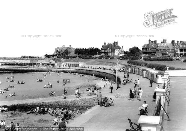 Photo of Westgate On Sea, West Bay c.1965