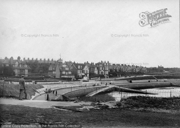 Photo of Westgate On Sea, West Bay Looking West 1918