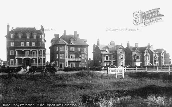 Photo of Westgate On Sea, West Cliff Hotel 1890