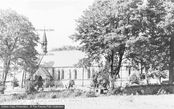 Photo of Westgate, St Andrew's Church c.1955