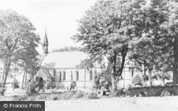 Westgate, St Andrew's Church c.1955