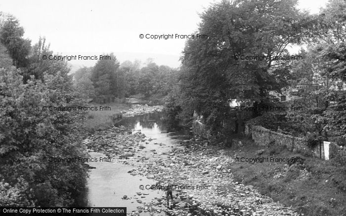 Photo of Westgate, The River c.1955