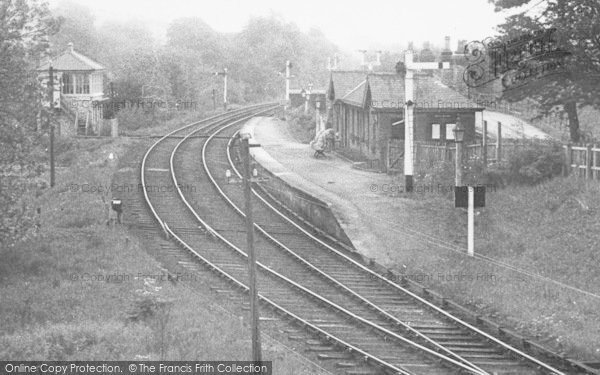 Photo of Westgate, The Station c.1955
