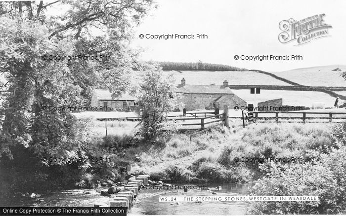 Photo of Westgate, The Stepping Stones c.1955