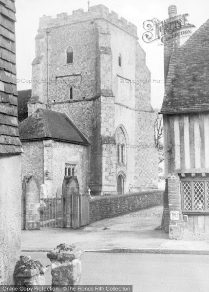 Photo of Westham, The Church c.1955