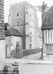 The Church c.1955, Westham