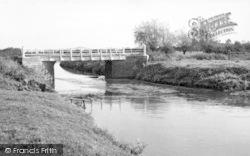 The River Bridge c.1955, Westhay