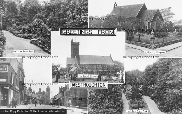 Photo of Westhoughton, Composite c.1955
