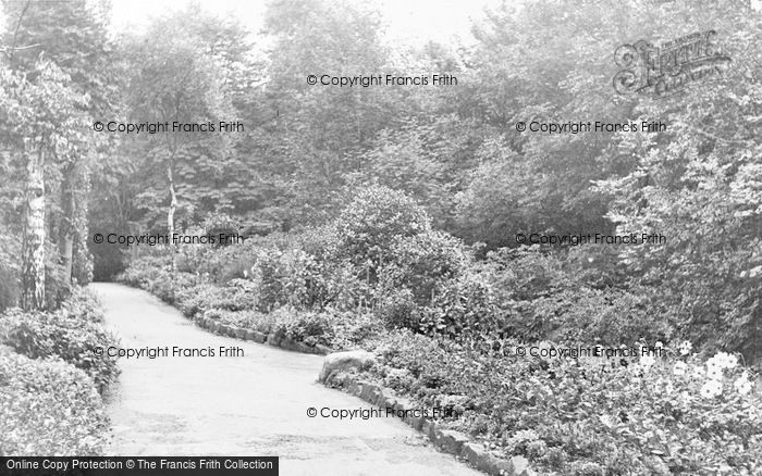 Photo of Westhoughton, Hall Lee Bank Park c.1955