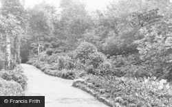 Westhoughton, Hall Lee Bank Park c.1955