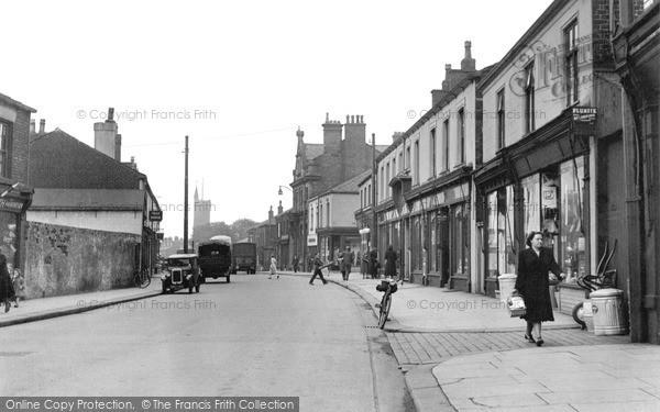 Photo of Westhoughton, Market Street 1950