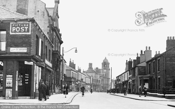 Photo of Westhoughton, Market Street c.1950