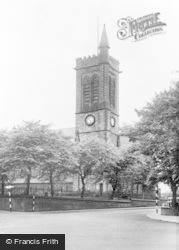 Westhoughton, St Bartholomew's Church c.1955