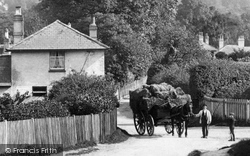 Westhumble, Horse And Cart 1906