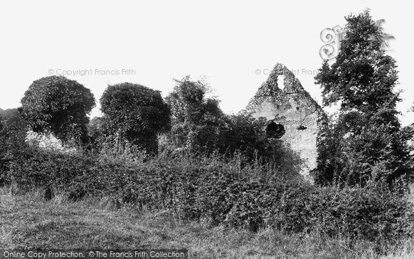 Photo of Westhumble, Old Chapel Ruins 1906