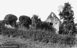 Westhumble, Old Chapel Ruins 1906