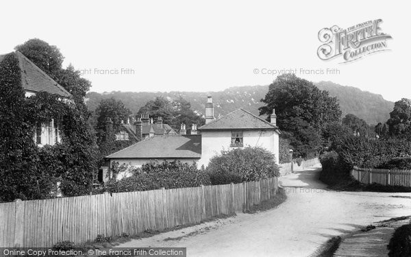 West Humble, showing Boxhill 1904