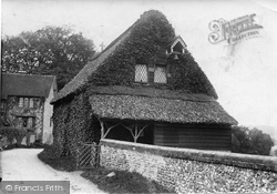 Westhumble, St Michael's Church Barn 1906