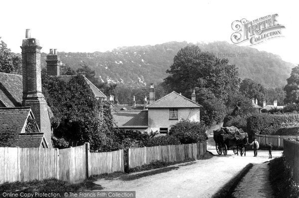 Photo of Westhumble, The Village 1906