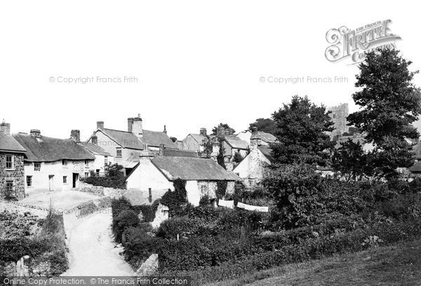 Photo of Westleigh, Village 1890