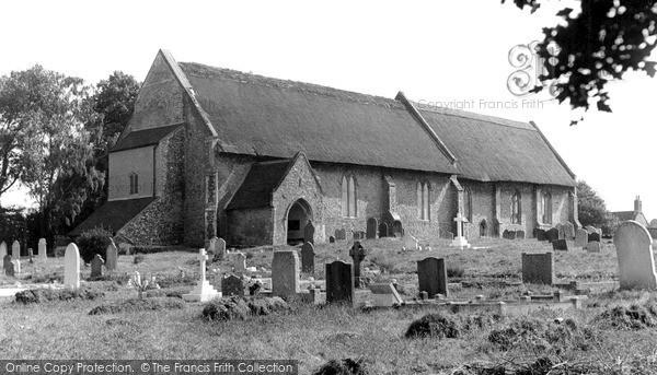 Photo of Westleton, St Peter's Church c.1955