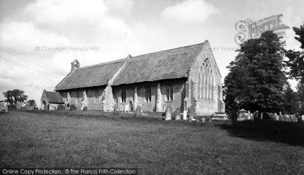 Photo of Westleton, St Peter's Church c.1965