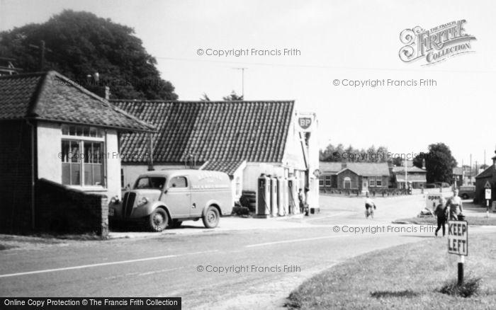 Photo of Westleton, The Garage c.1965