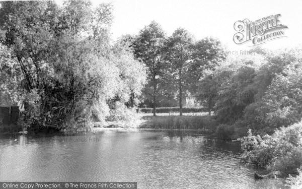 Photo of Westleton, The Pond c.1965