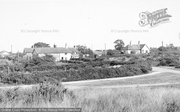 Photo of Westleton, The Village c.1955