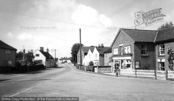 Photo of Westleton, The Village c.1960