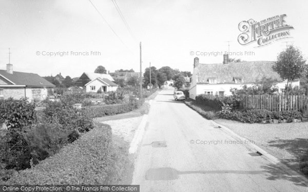 Photo of Westleton, The Village c.1960