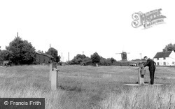 The Village Pumps On The Green c.1955, Westleton