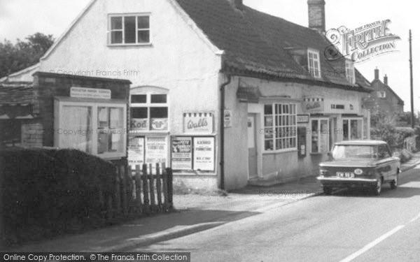 Photo of Westleton, The Village Shop c.1965