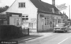 The Village Shop c.1965, Westleton