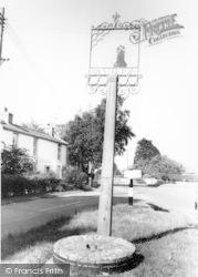 The Village Sign c.1965, Westleton