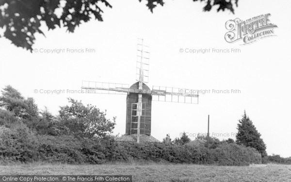 Photo of Westleton, The Windmill c.1955