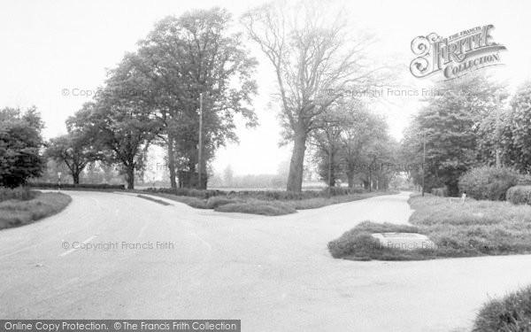 Photo of Westmancote, The Crossroads c.1955