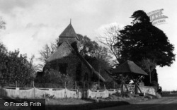 St Martin's Church c.1950, Westmeston