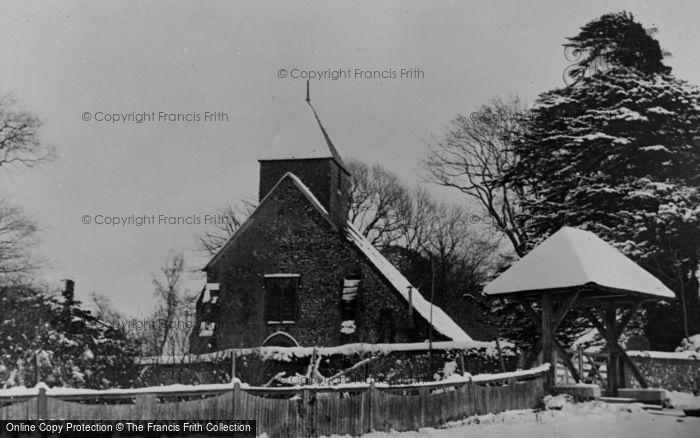 Photo of Westmeston, St Martin's Church c.1950