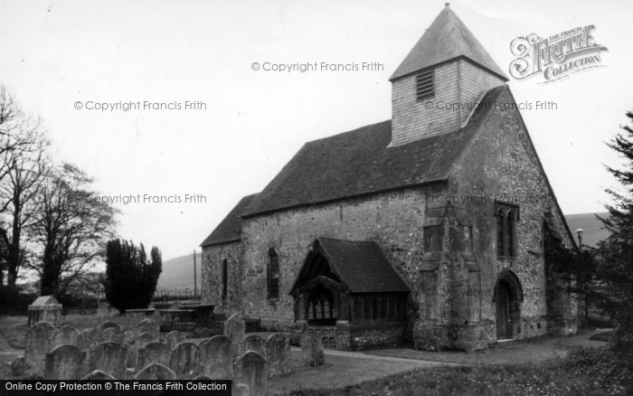 Photo of Westmeston, St Martin's Church c.1960