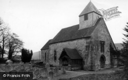 St Martin's Church c.1960, Westmeston