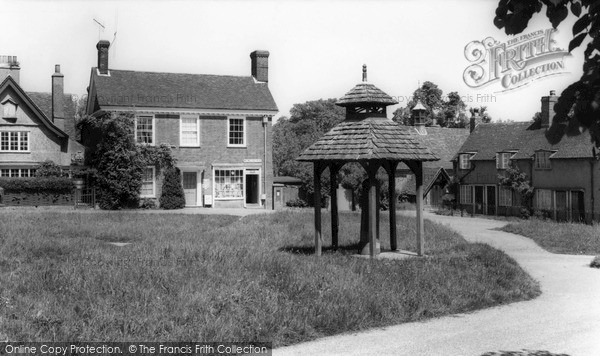 Photo of Westmill, The Village c.1960